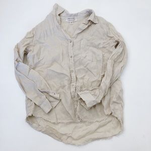 Cloth & Stone Button Down Shirt Size Small